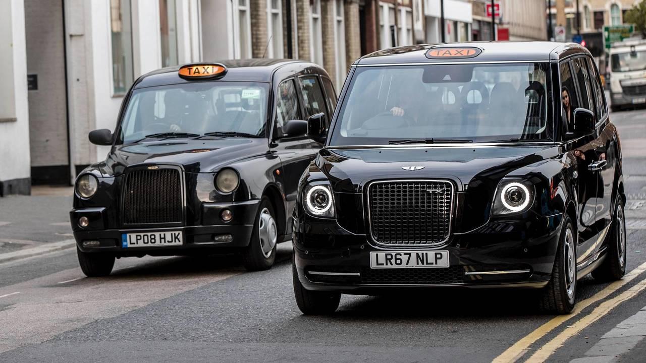 LEVC taxi elétrico de Londres