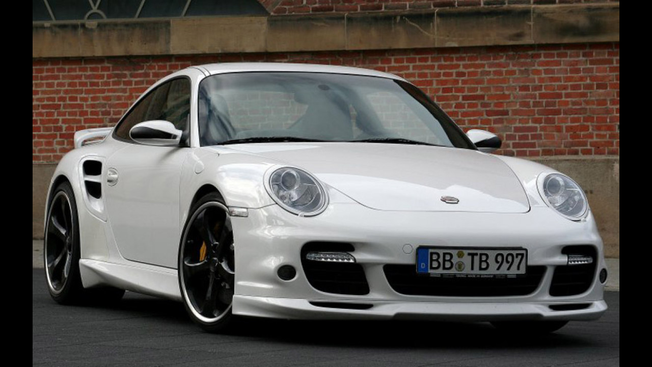 Porsche 997 Turbo by Techart
