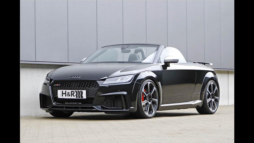 Audi TT RS Roadster wird mit Sportfedern noch dynamischer