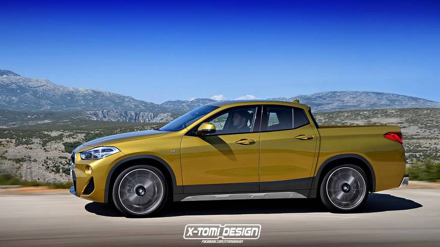 BMW X2 Pickup / Cabrio Render