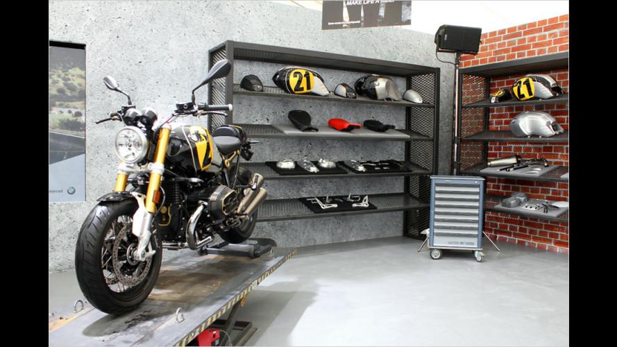 Customizing von BMW Motorrad Spezial