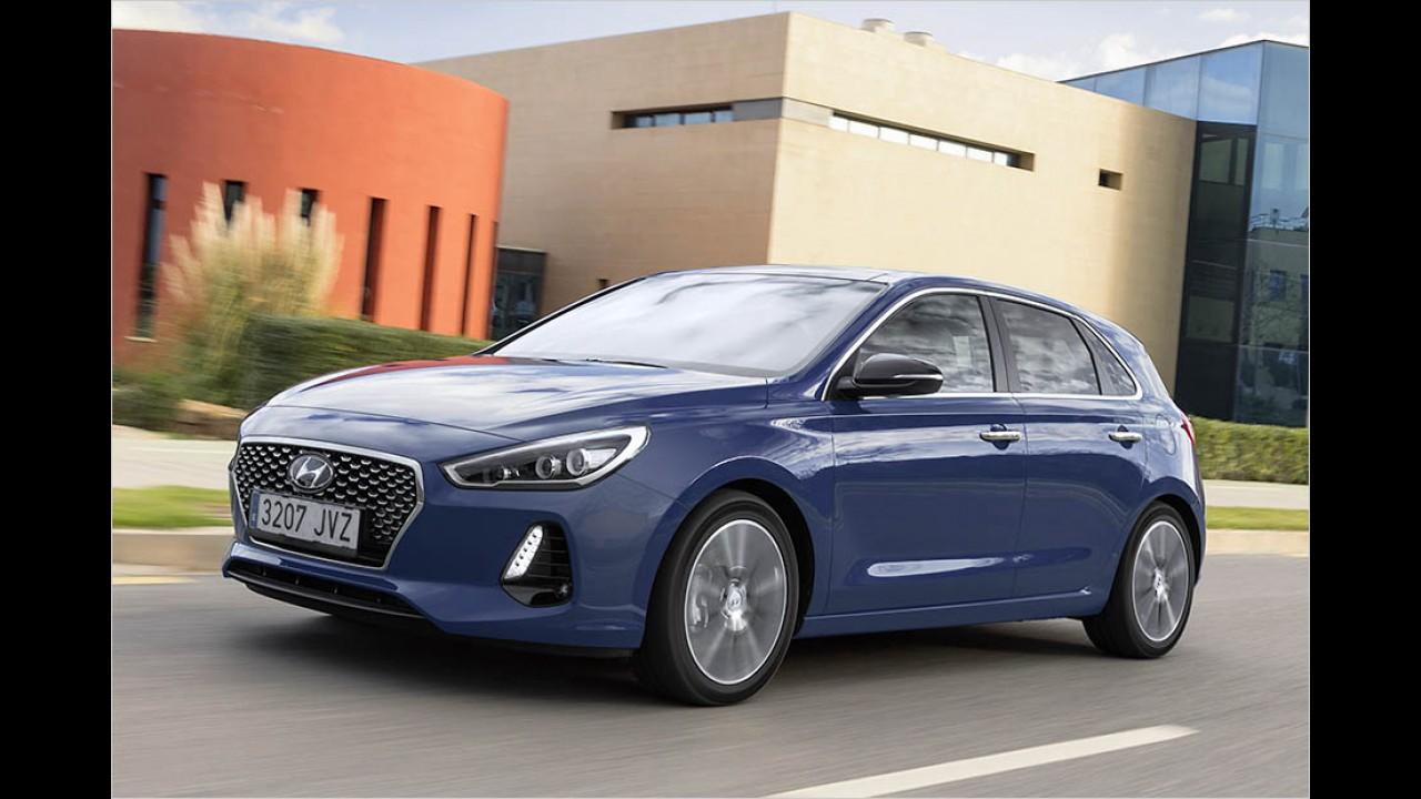 Hyundai i30: 17.450 Euro
