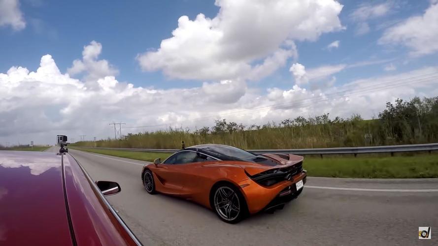 VIDÉO - La McLaren 720S ne fait qu'une bouchée de la Model S P100D