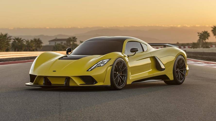 Hennessey Venom F5 engine rated at 1,817 bhp