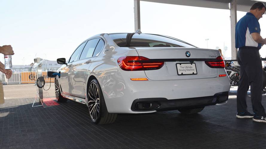 BMW 740e Decked With M Performance Parts Unveiled At SEMA