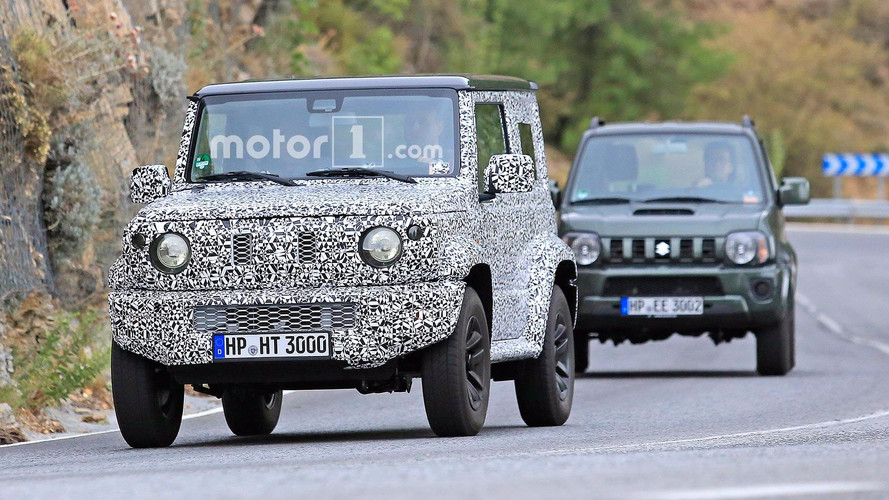 New Suzuki Jimny spotted in testing