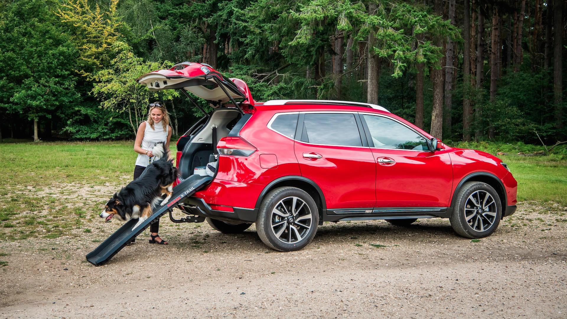Nissan X Trail Adds Paw Pack In U K For Canine Adventures