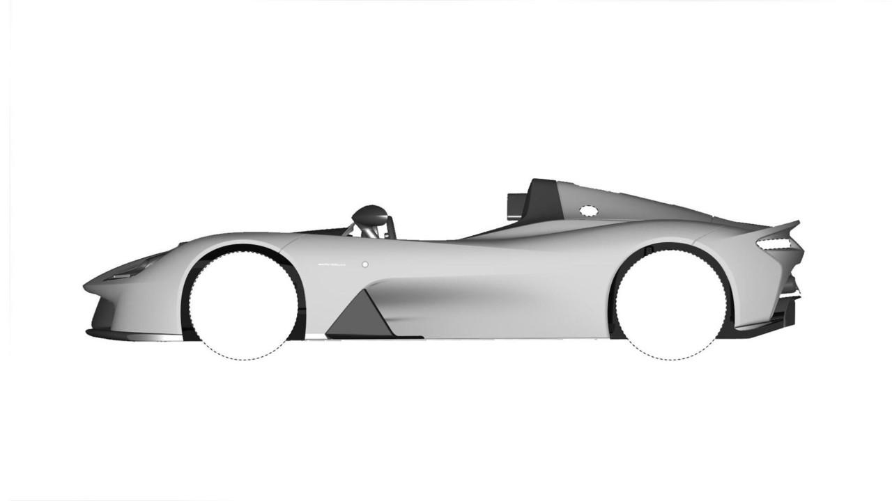 Dallara Stradale Tasarım Çalışmaları