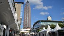Frankfurt motor show stands