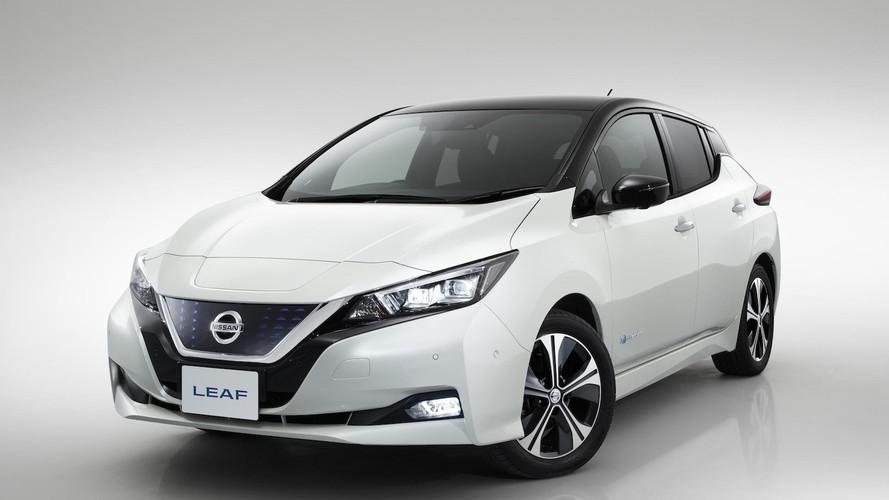 Nissan Leaf è l'auto più venduta in Norvegia nel 2018