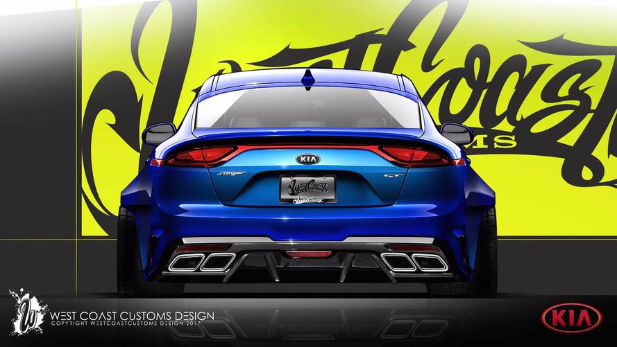 West Coast Customs has slammed a Kia Stinger GT for the Sema Show