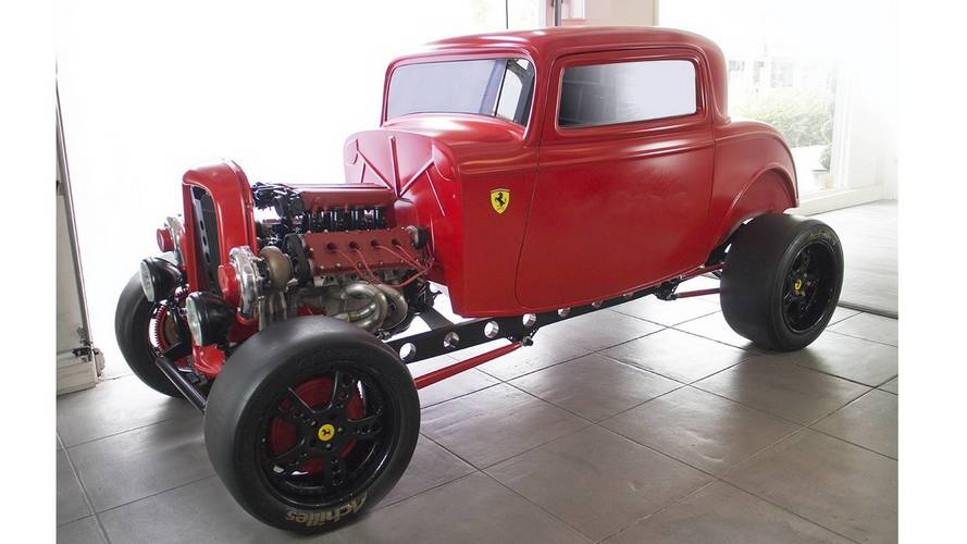 Çift turbolu Ferrari motorlu 1932 model Ford