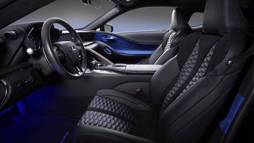 2018 Lexus LC 500 Black Panther