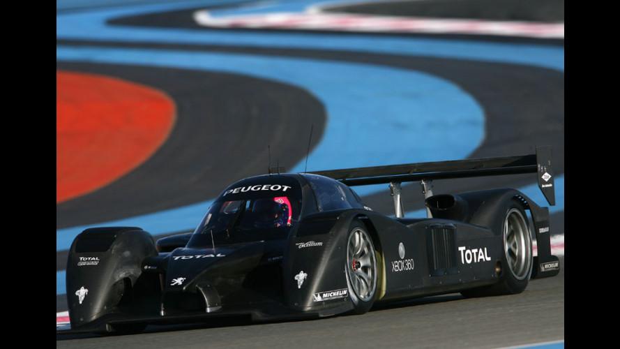 A Le Mans con Villeneuve e Peugeot 908