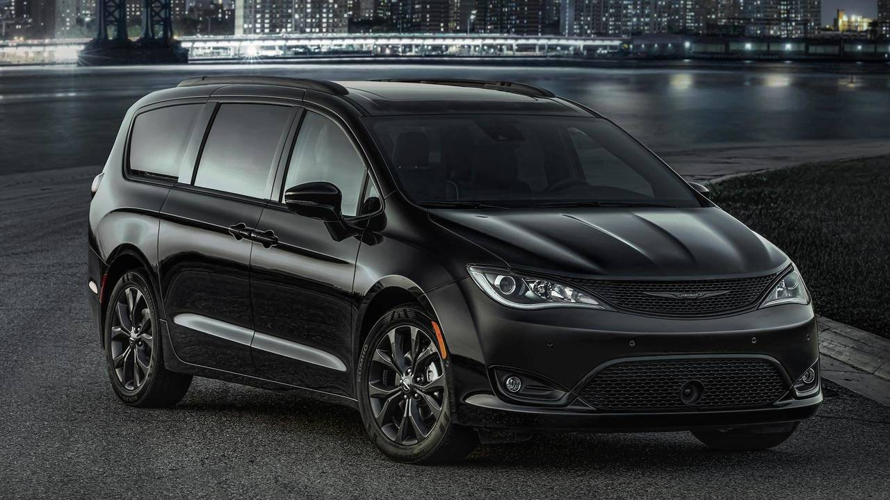 Turn Up The Johnny Cash, Chrysler Pacifica S Is A Minivan ...