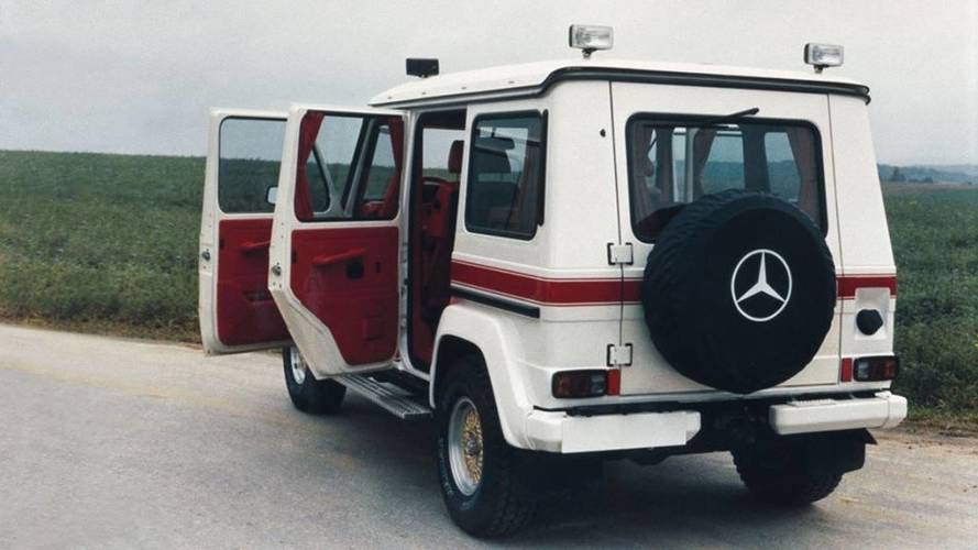 1979 Mercedes-AMG G-Wagen Proves The '70s Were Weird And Awesome