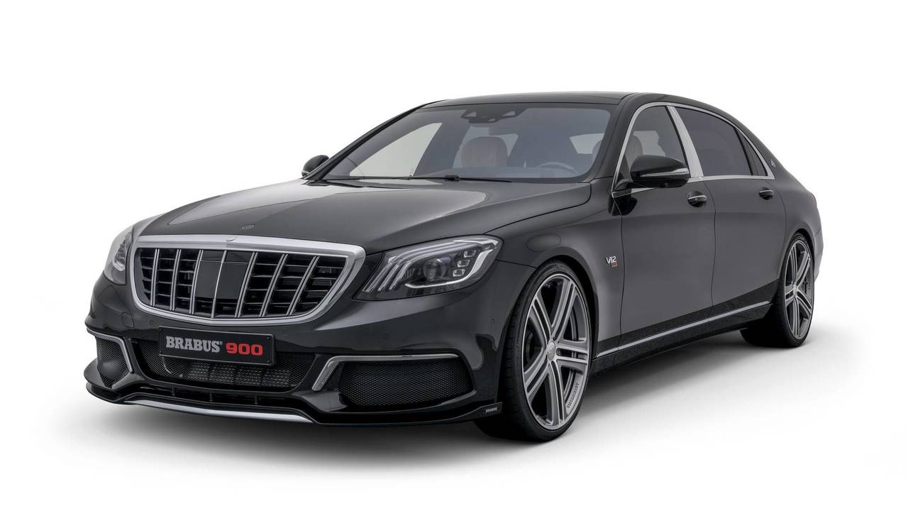 Brabus Mercedes-Maybach S650 900