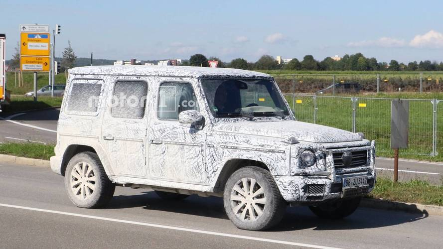 2018 Mercedes G-Class Spied Again Before Detroit Debut