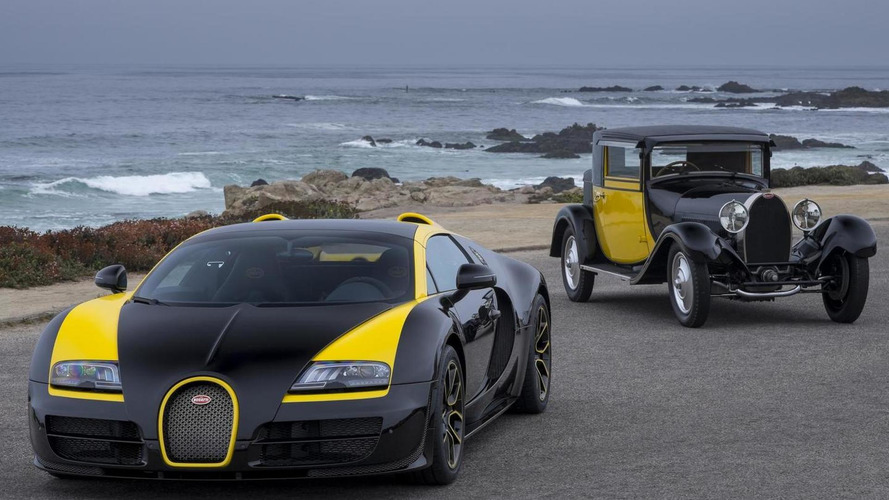 Bugatti Grand Sport Vitesse '1 of 1' showcased at Pebble Beach