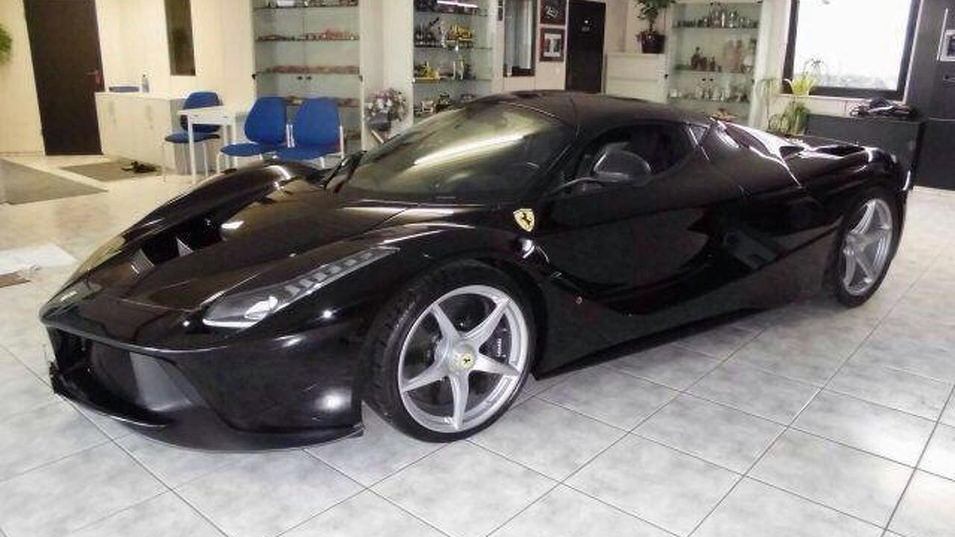 Brand new black LaFerrari on sale in Dubai for $3.4 million