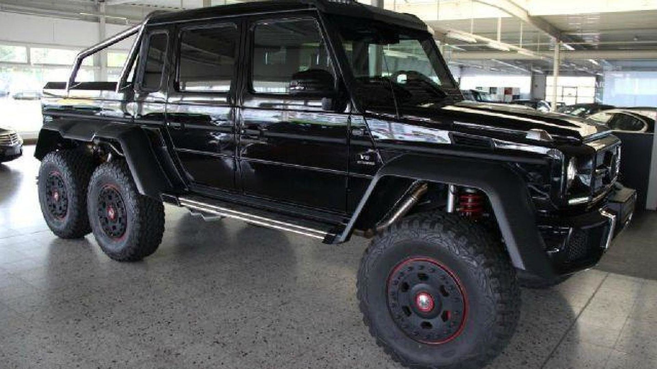 Mercedes 6x6 For Sale >> Mercedes Benz G63 Amg 6x6 Listed For Sale At 975 000 Usd