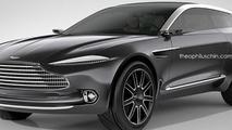 Aston Martin DBX Shooting Brake render