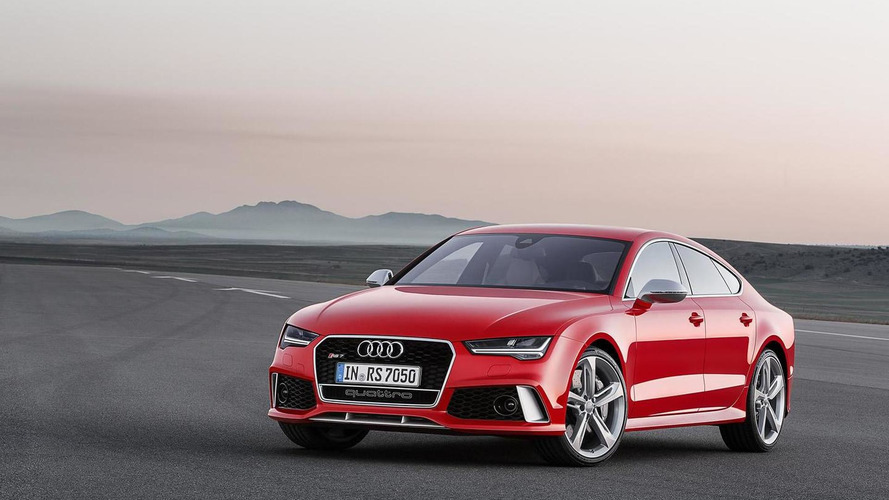 Audi RS7 Sportback facelift revealed with subtle changes