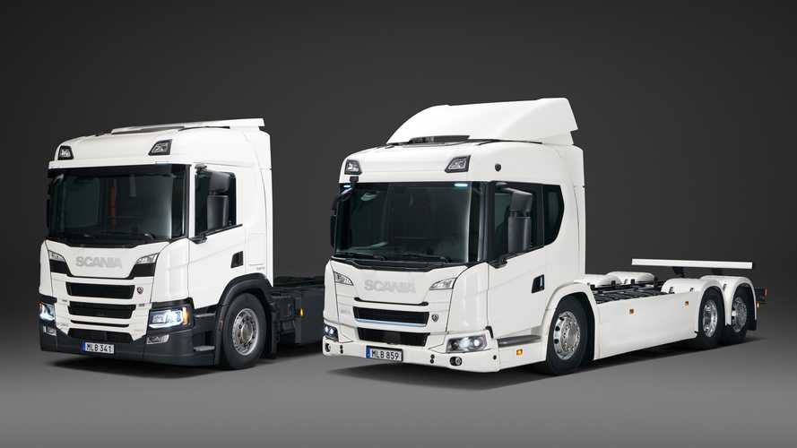 Scania Introduces Its First Commercial Plug-In Electric Truck Range