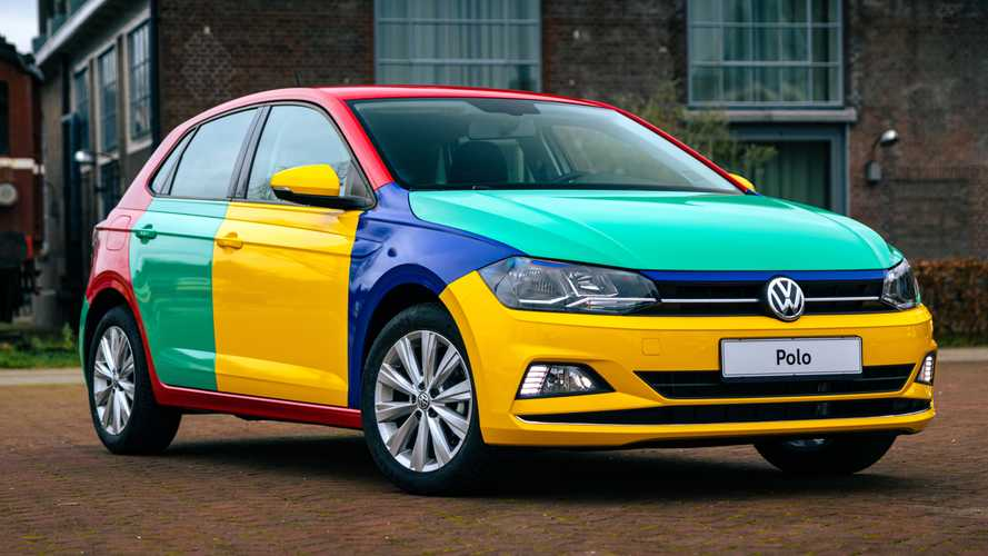 VW Polo Harlequin Makes Colorful Comeback