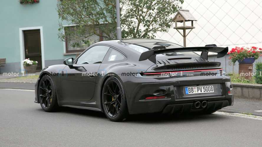 2021 Porsche 911 GT3 new spy photos