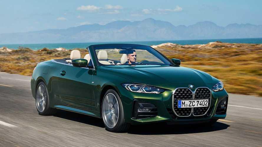 BMW 4er Cabrio (2021): Riesen-Niere und Gewicht sparendes Textilverdeck