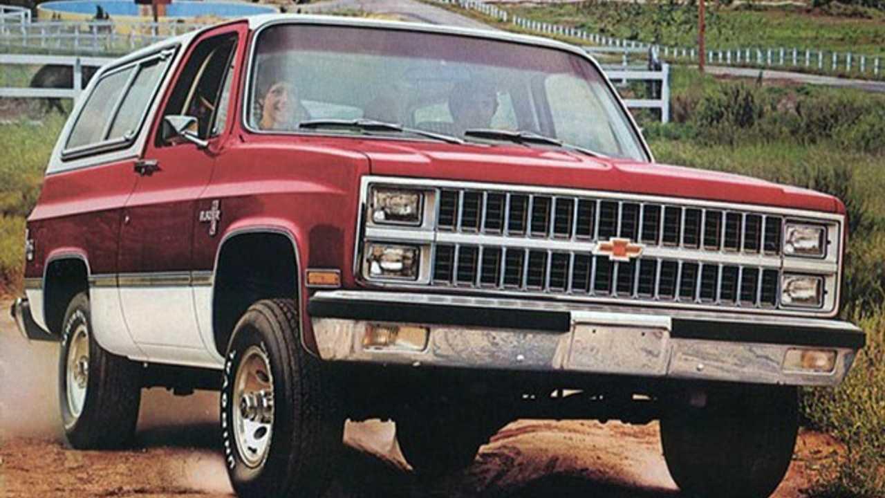1981 Chevy K5 Blazer