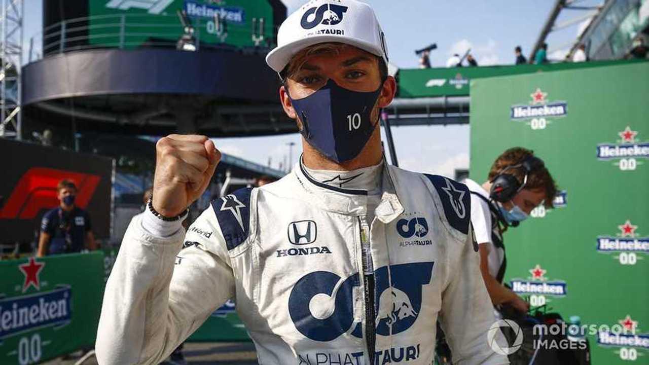 Pierre Gasly at Italian GP 2020