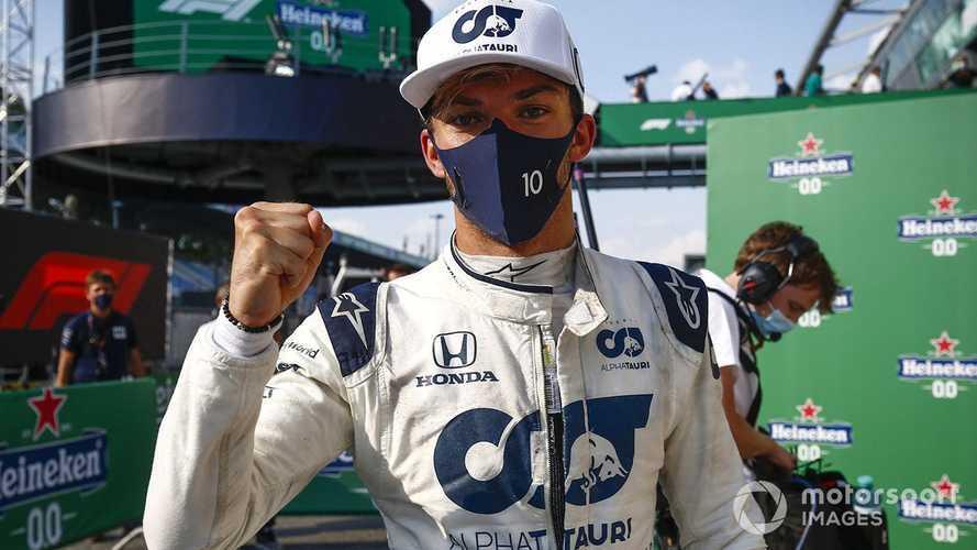 AlphaTauri retains Pierre Gasly for 2021 F1 season