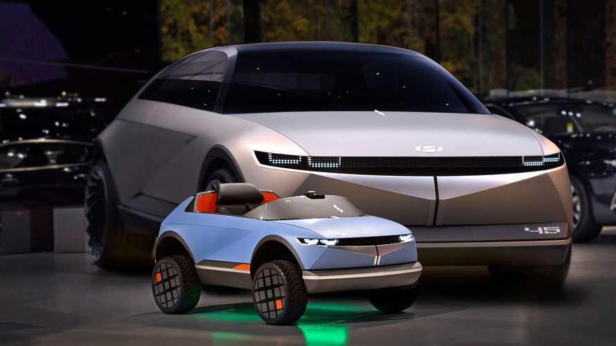 Hyundai уже представил Ioniq 5. Но для детей