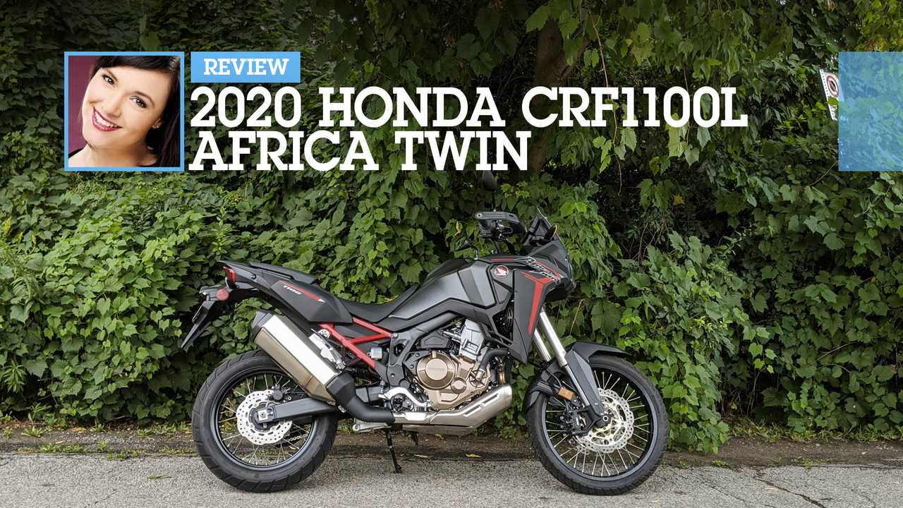 2020 Honda CRF1100L Africa Twin Review Main
