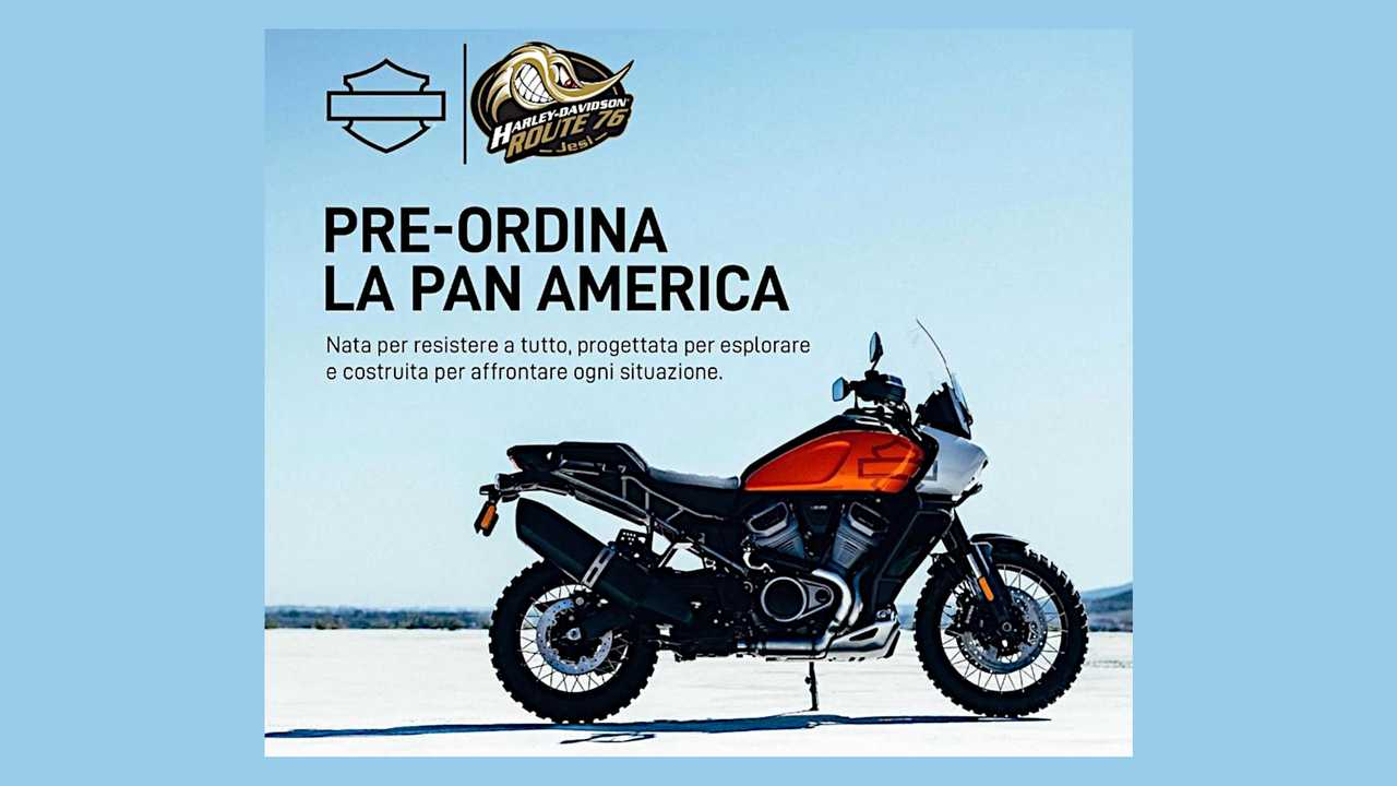 2020 Harley-Davidson Pan America Preorders Open In Italy