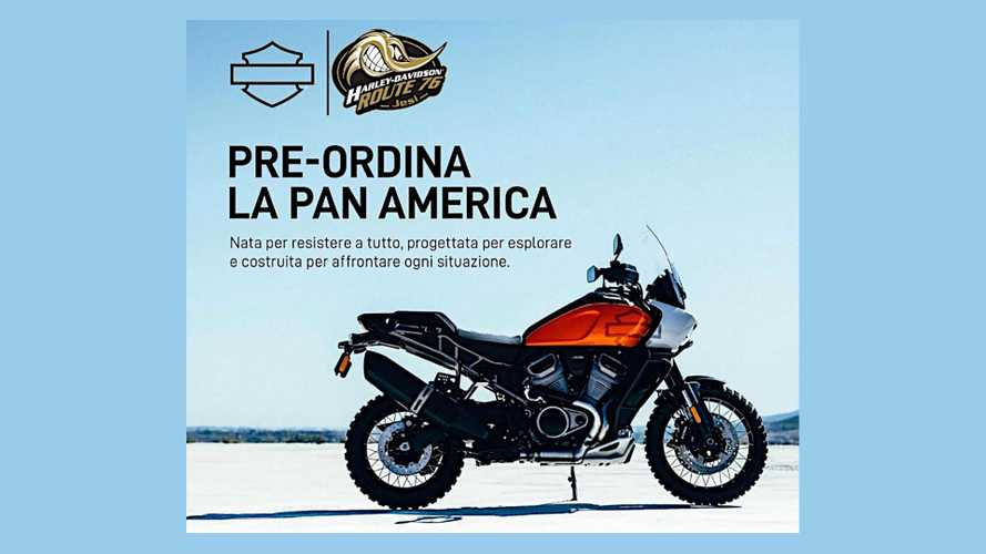 Harley-Davidson Pan America Preorders Seem To Be Open In Italy