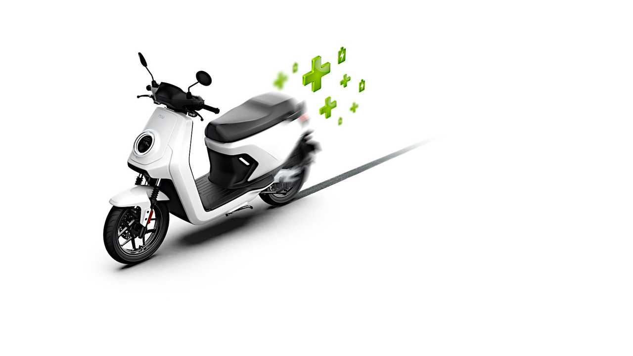 NIU MQiGT Electric Scooter - Electric Graphic