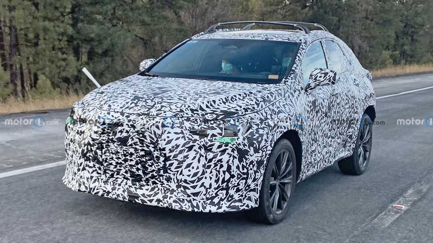 Next-generation Lexus NX compact crossover spied for the first time