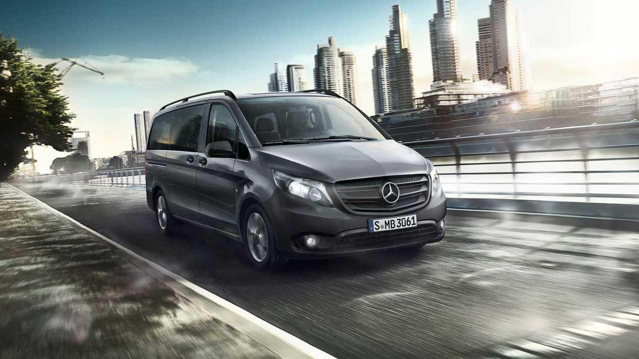 Экстерьер Mercedes-Benz Metris (2020)