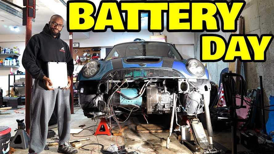 Rich Benoit Already Has The Batteries To Power His Mini EV Conversion