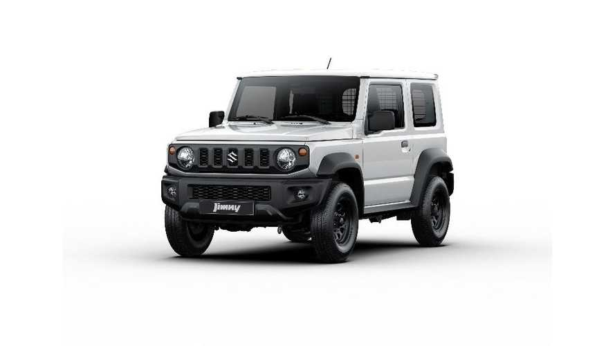 Suzuki Jimny back in Europe as two-seater commercial vehicle