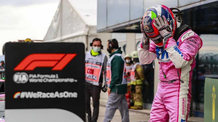 """F1, Perez: """"Un altro giro e le intermedie sarebbero esplose"""""""