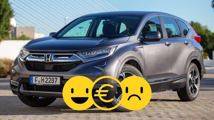 Promozione Honda CR-V Hybrid, perché conviene e perché no