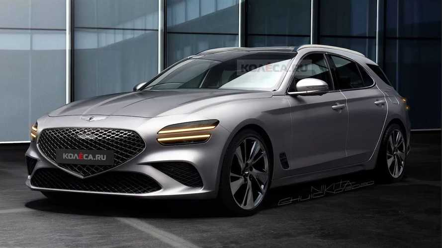 Genesis G70 Estate Looks Sublime In Renderings And Spy Video