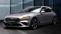 Genesis G70 Wagon Unofficial Renderings