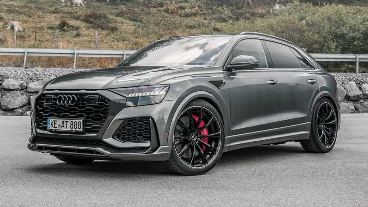 Audi RS Q8 By ABT Three Quarters