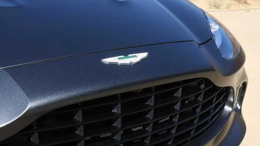 Первая поездка на Aston Martin DBX