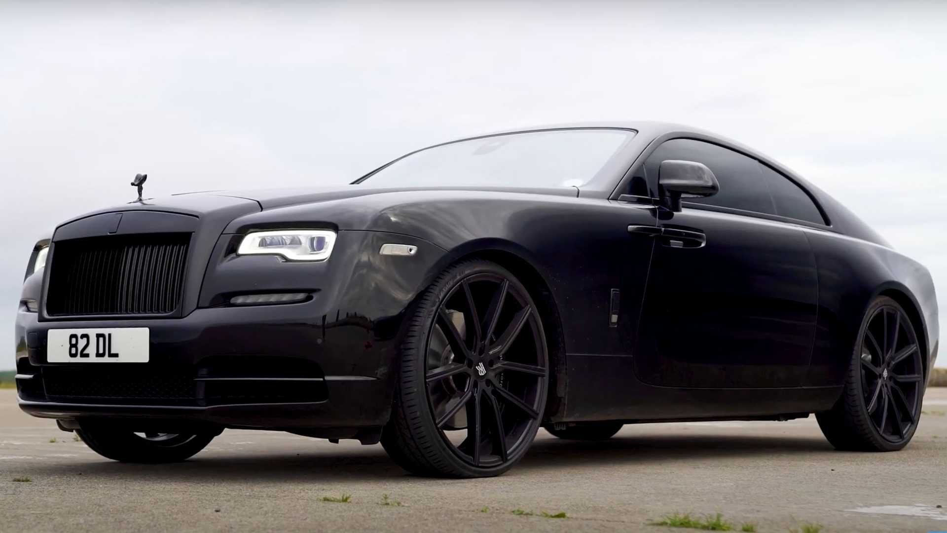Rolls Royce Wraith And Bentley Continental Gt Drag Race In Battle Of Luxury Titans